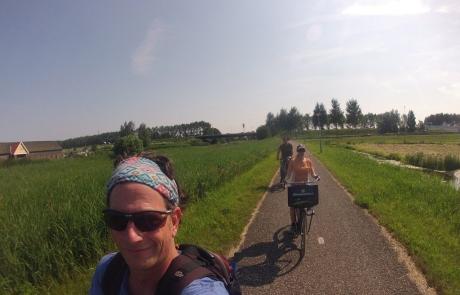 טיול אופניים ארץ המים וטחנות הרוח