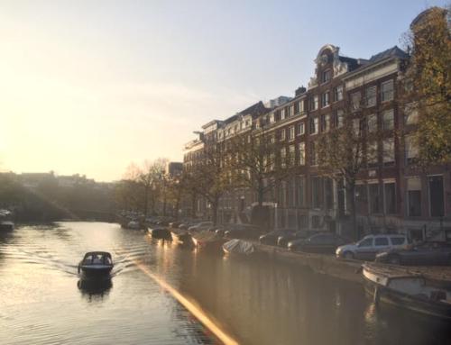שייט תעלות רומנטי באמסטרדם